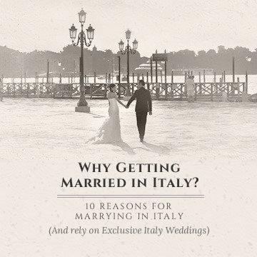 Why getting married in Italy