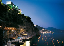 Panorama of Amalfi Hotel Santa Caterina for weddings