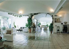 Hall for wedding receptions in Amalfi Hotel Santa Caterina