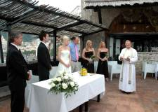 Protestant ceremony in Amalfi