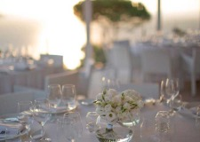 Wedding reception at Relais Blu in Sorrento