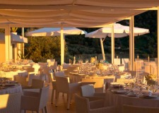 Wedding dinner at Relais Blu in Sorrento