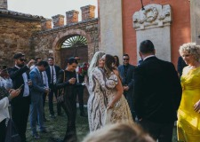 Tuscany wedding at Castello di Modanella near Siena