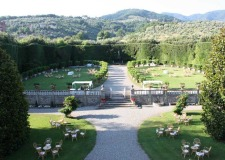 Gardens of Villa Grabau, wedding venue in Tuscany
