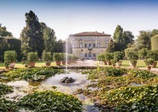 Gardens of Villa Grabau, venue for Tuscany wedding