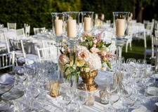 Floral decoration for Florence wedding at Villa di Maiano
