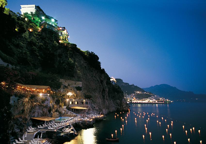 Panorama Of Amalfi Hotel Santa Caterina For Weddings