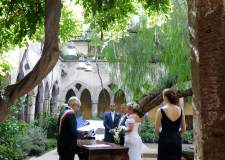 Civil ceremony in Sorrento
