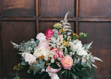Bridal bouquet for wedding in Florence