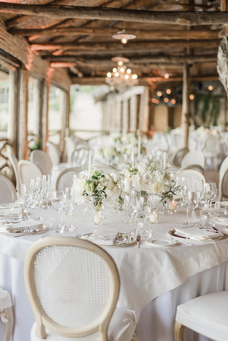 Wedding reception at Hotel Santa Caterina