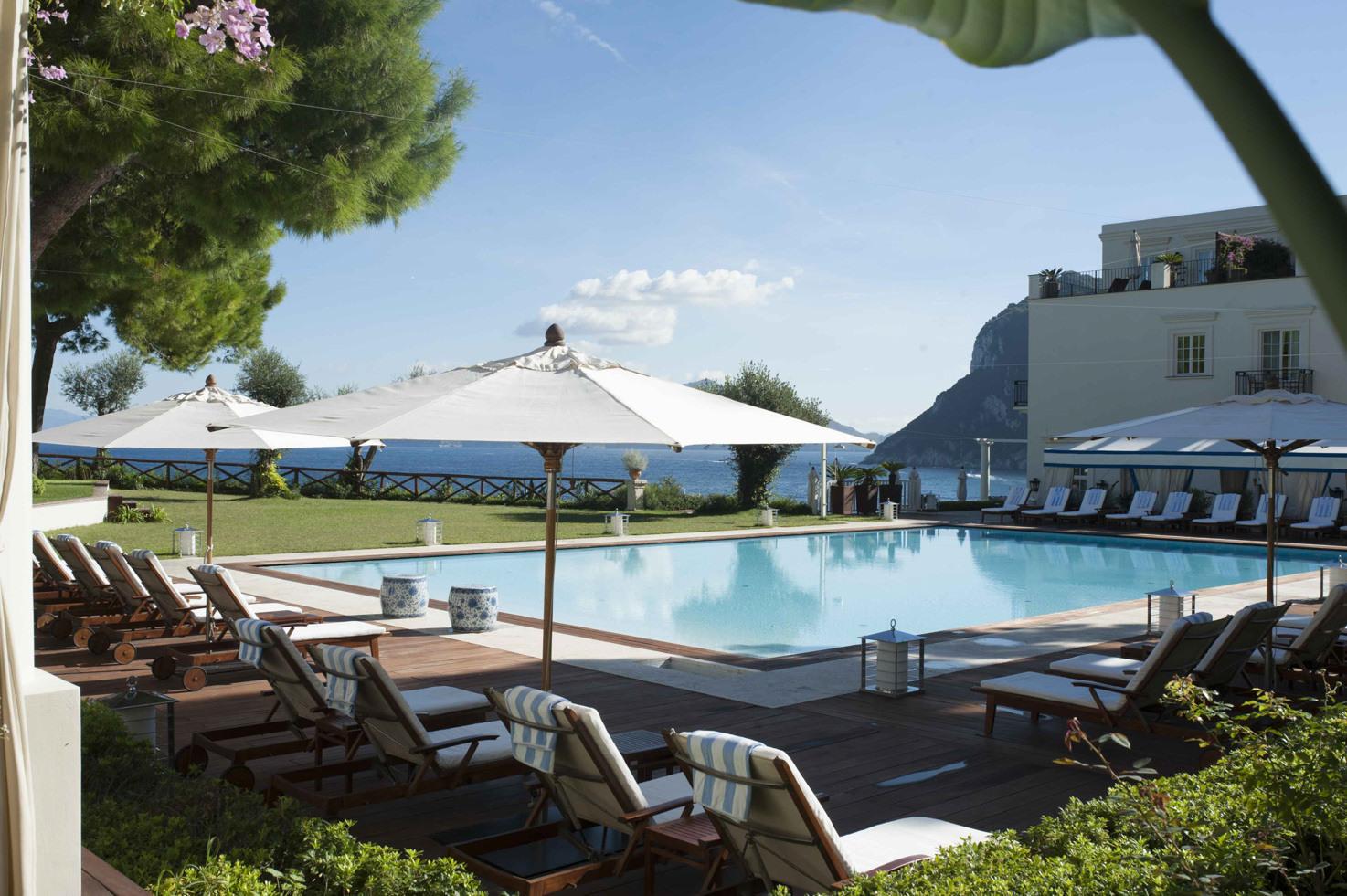 JK Place Hotel swimming pool
