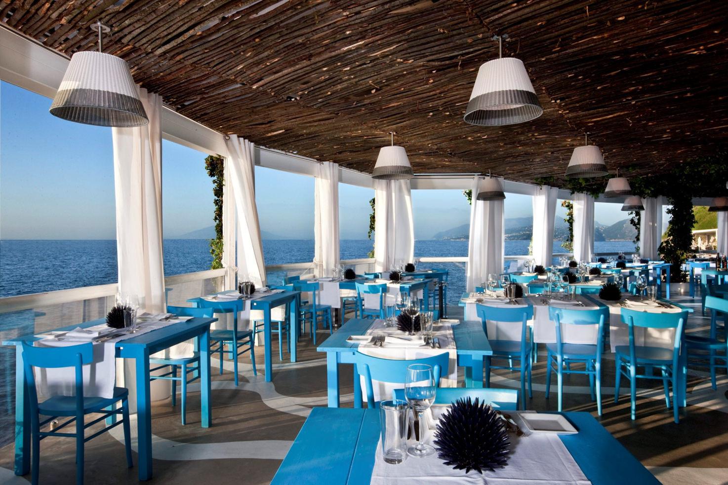 Il Riccio restaurant in Capri