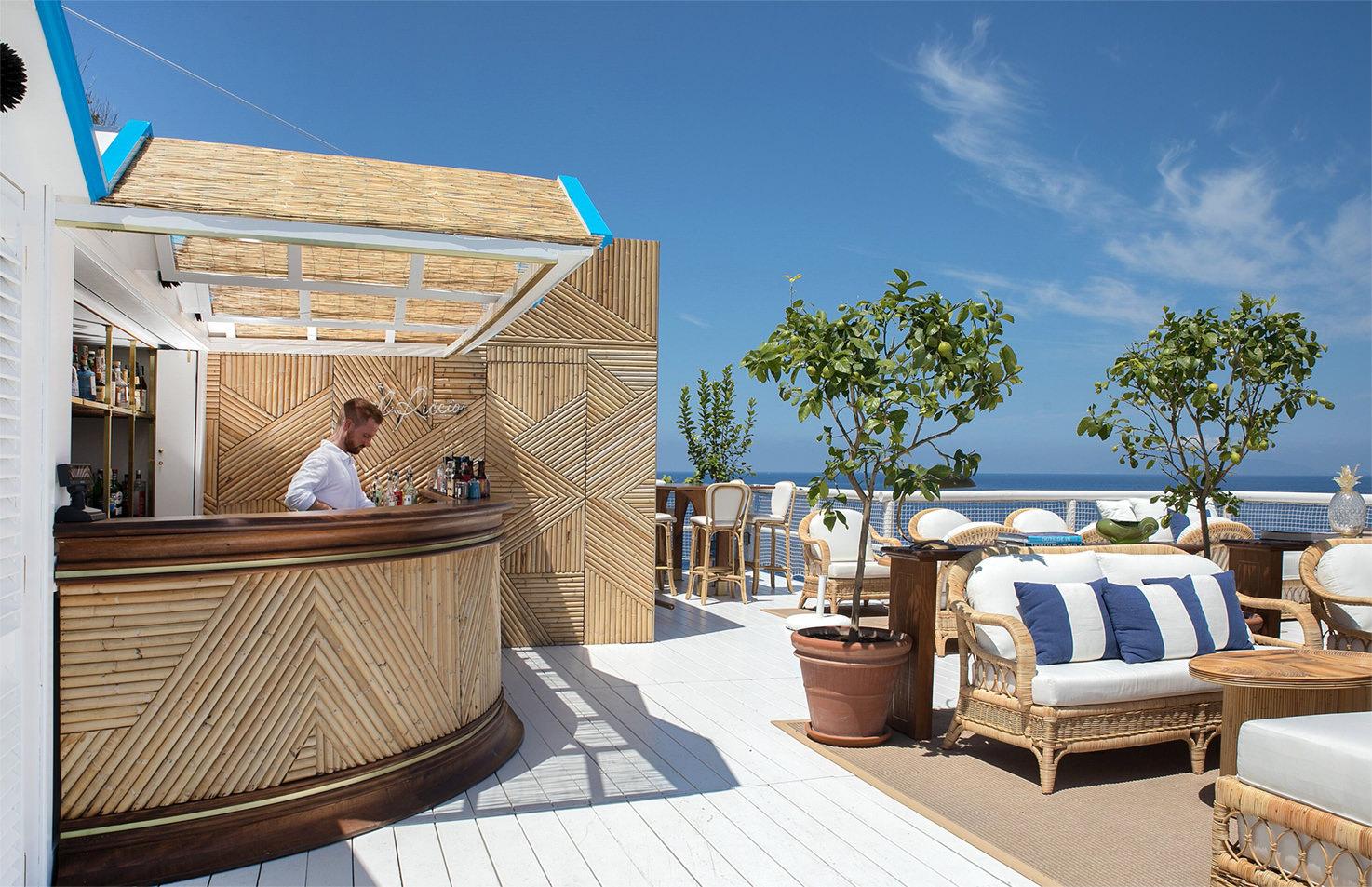 Il Riccio terrace bar