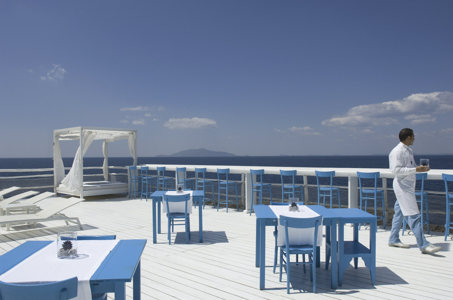 Terrace wit sea view