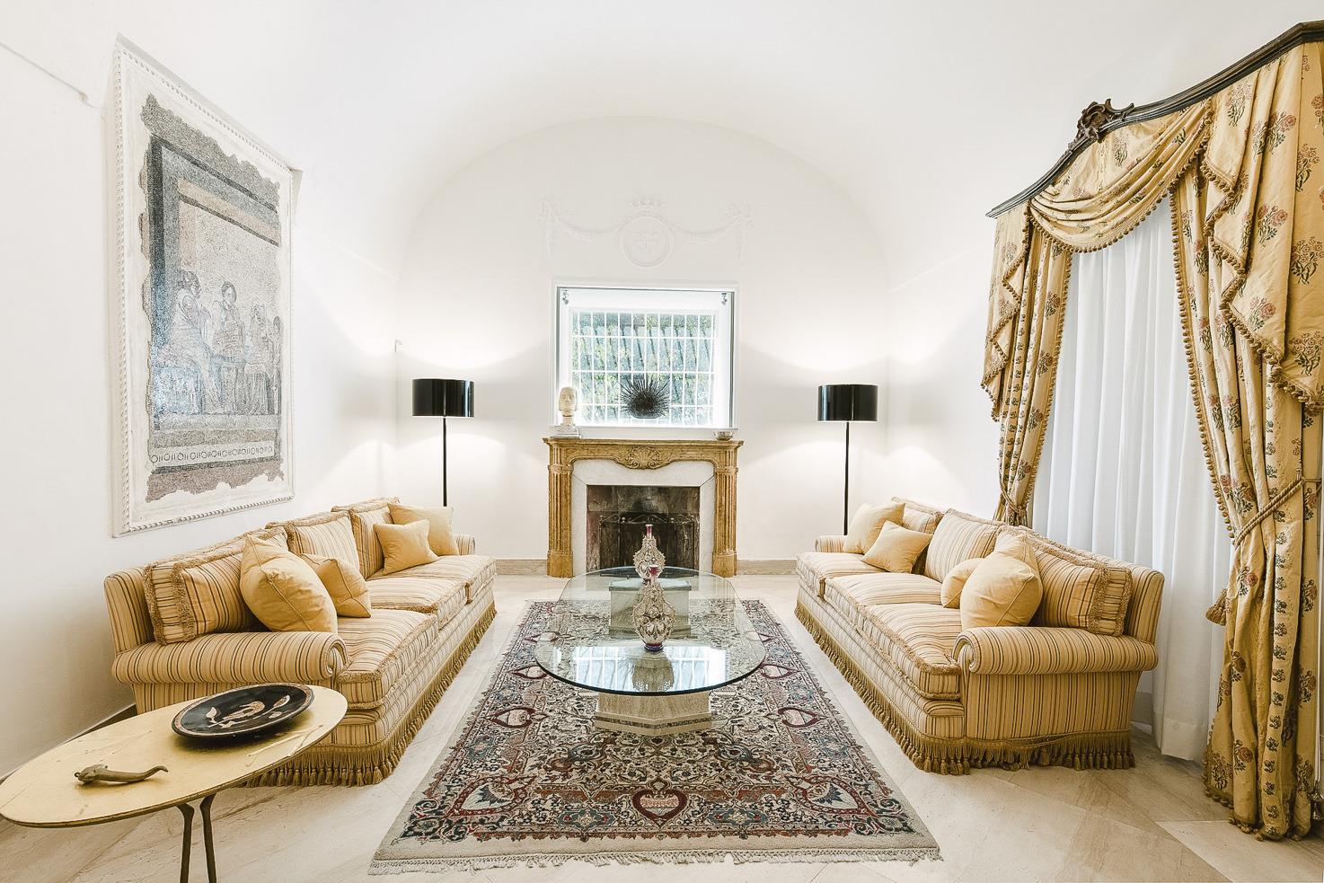 Lobby of Villa Camelia