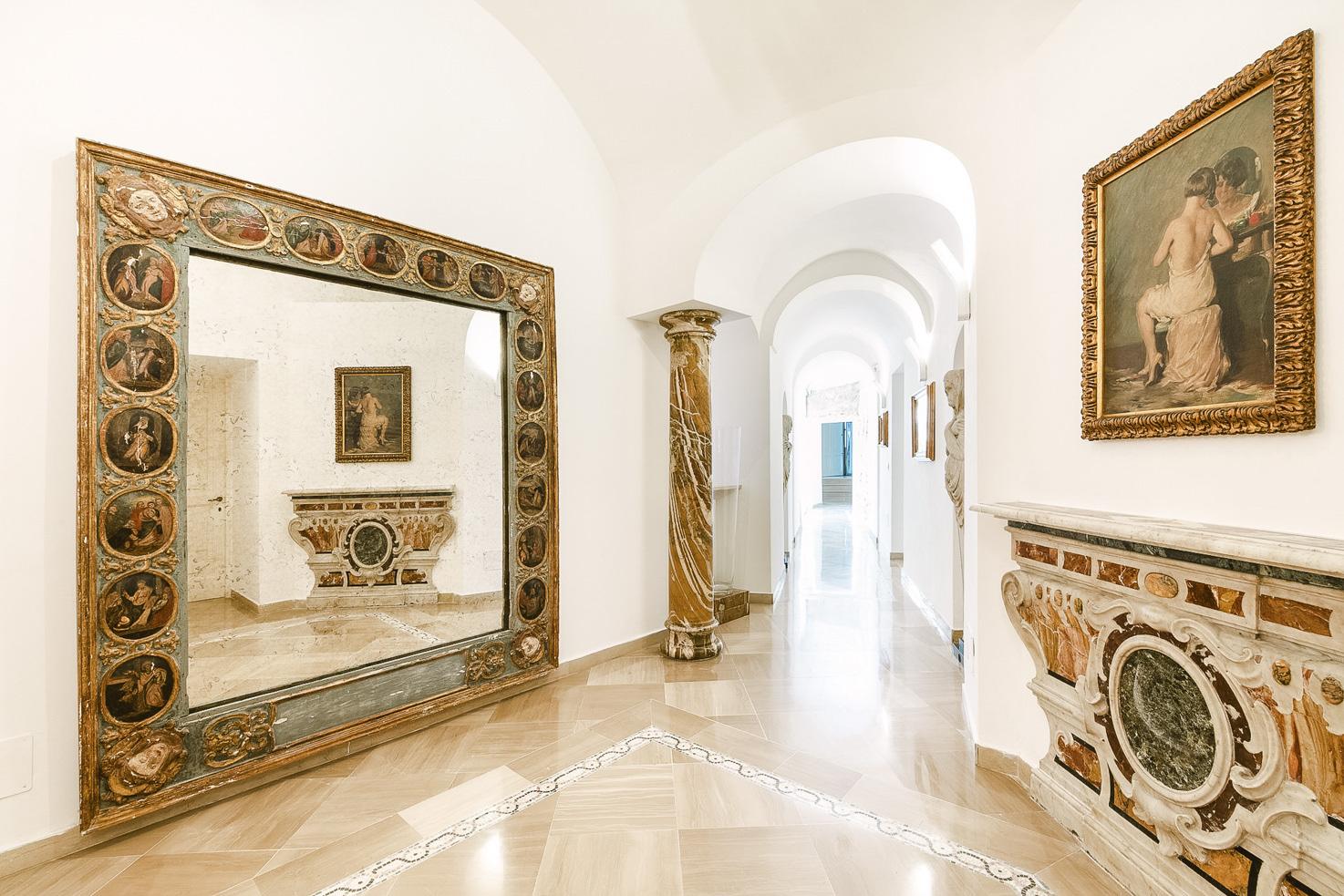 Corridor on the ground floor