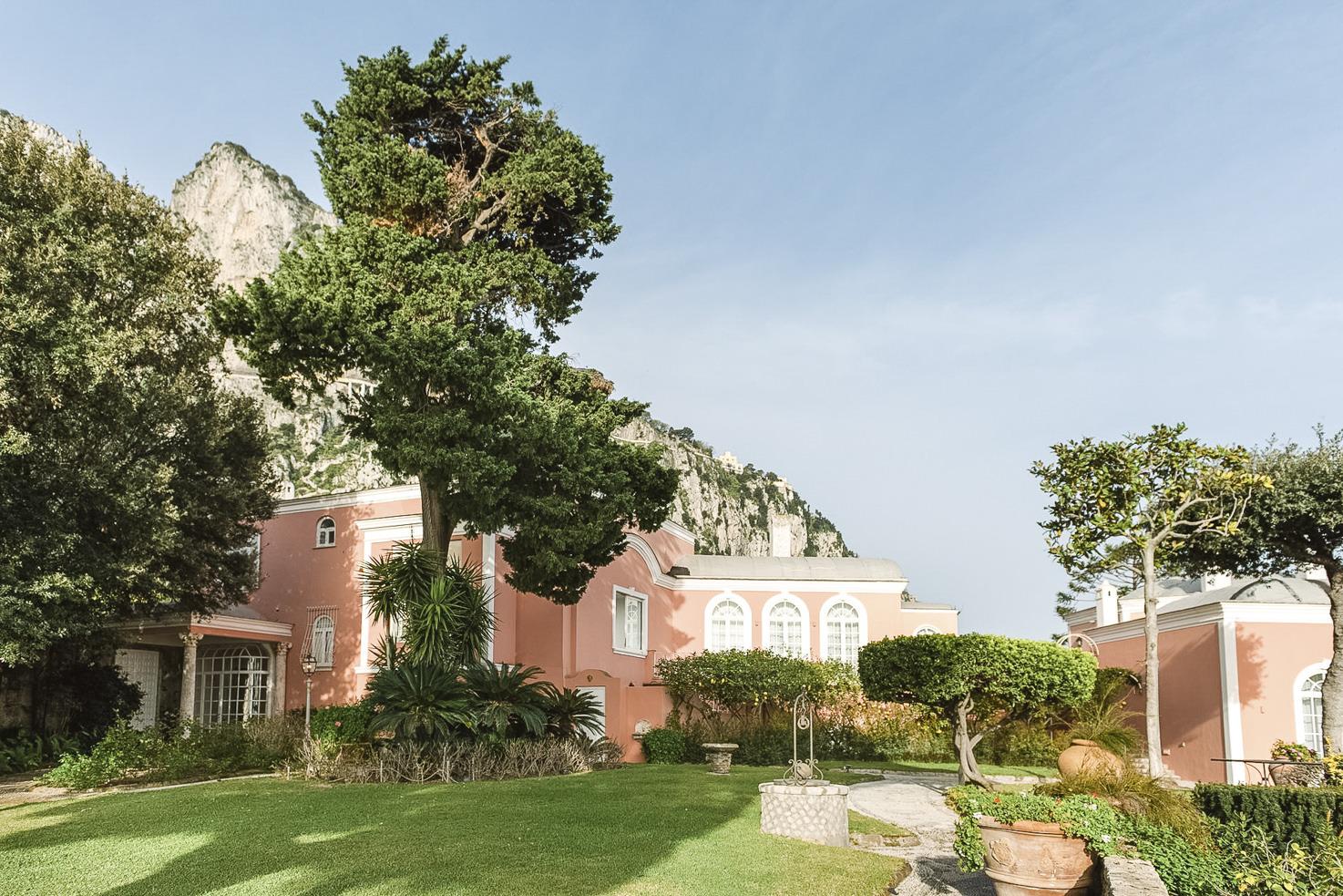 Exterior view of Villa Camelia
