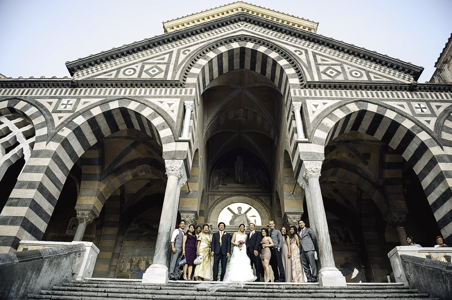 Exterior of Amalfi Duomo