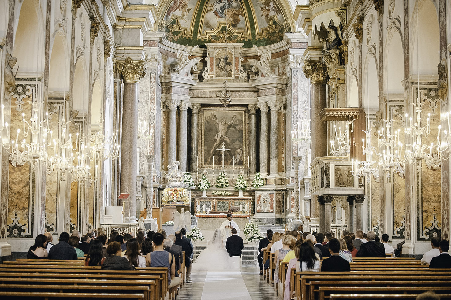 Interior of Amalfi Duomo
