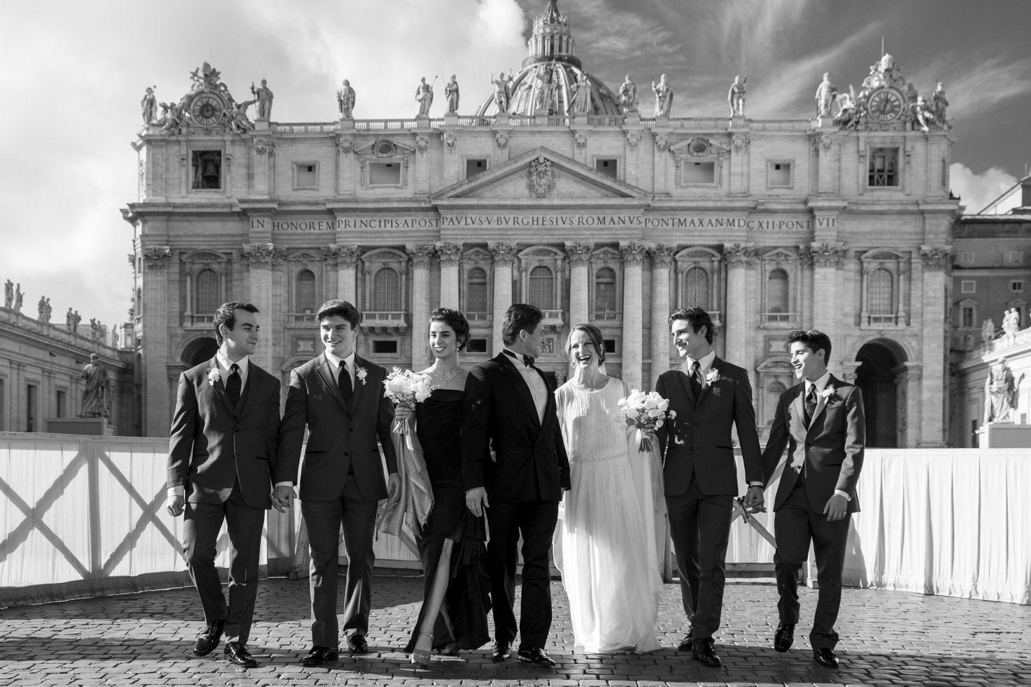 Catholic wedding in Rome