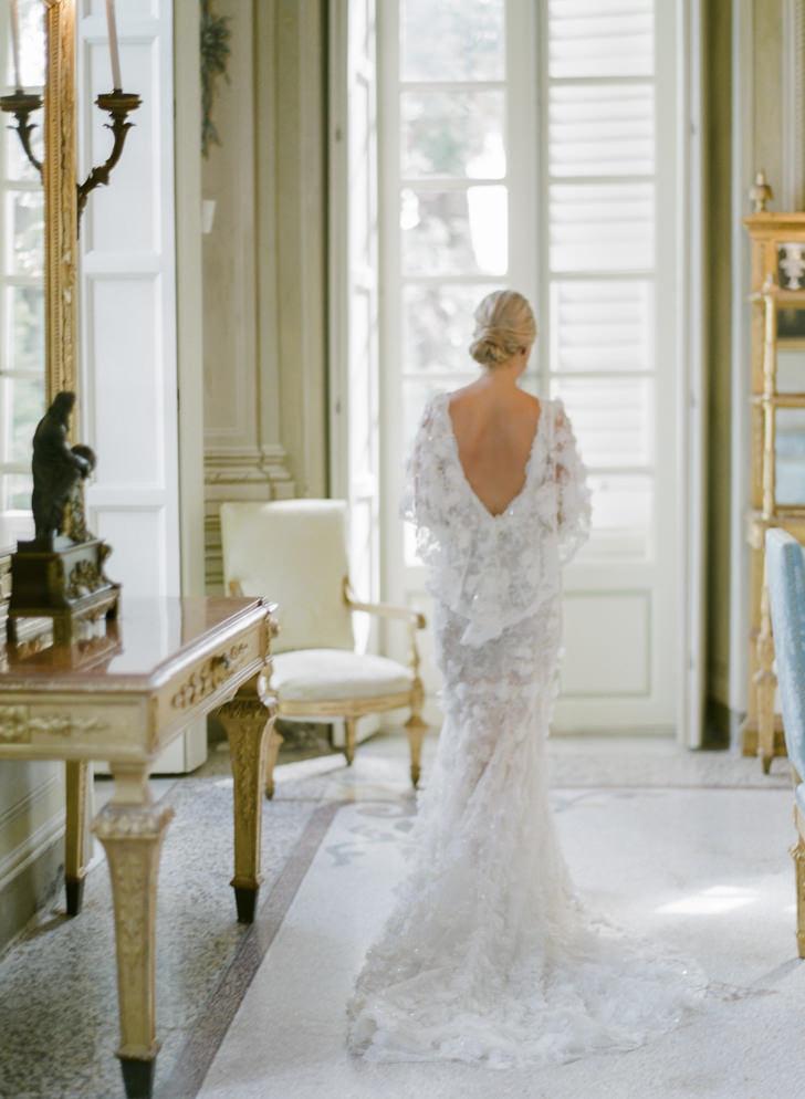 Bride at Villa Durazzo