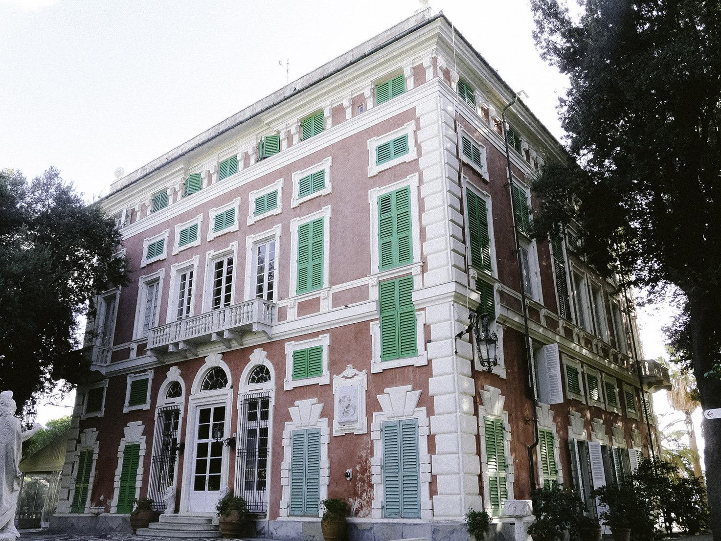 Façade of Villa Durazzo