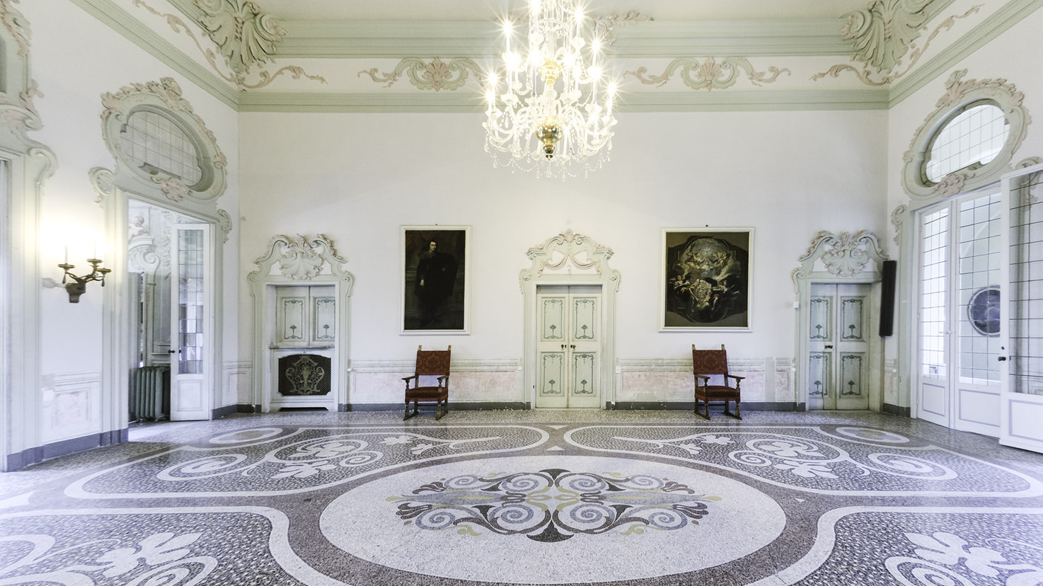 Interiors of Villa Durazzo