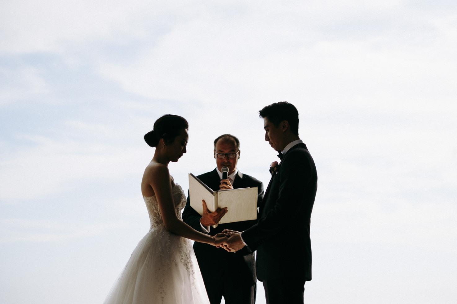 Wedding ceremony in Capri