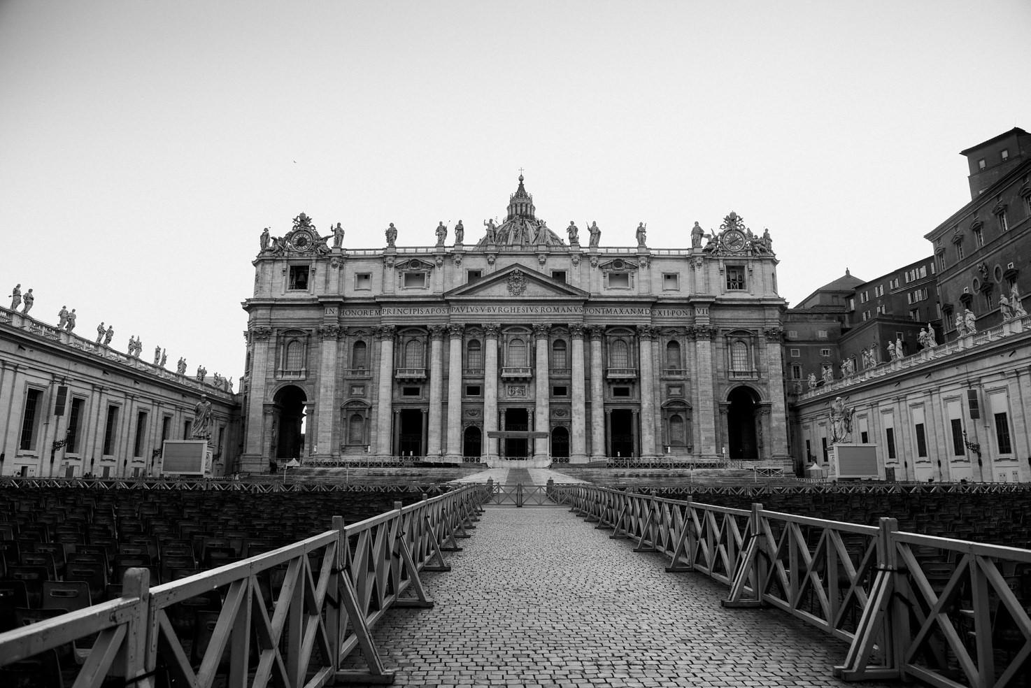 Façade of St. Peter's Basilica, Rome