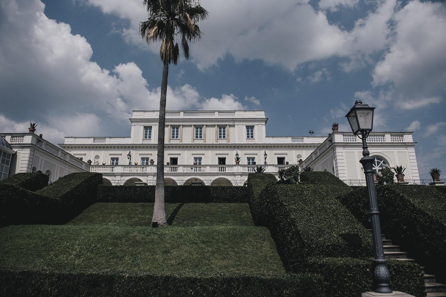 Villa Miani for destination weddings in Rome