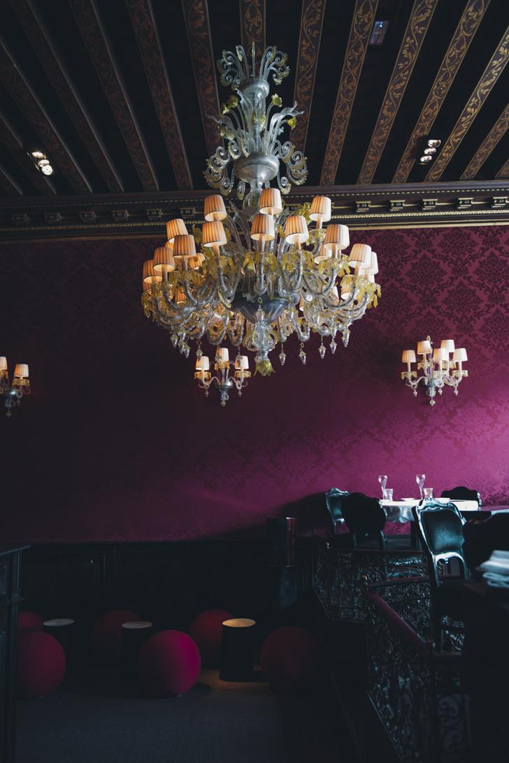 Interior of Caffè Florian