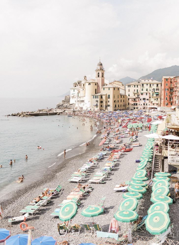 Panorama of Camogli