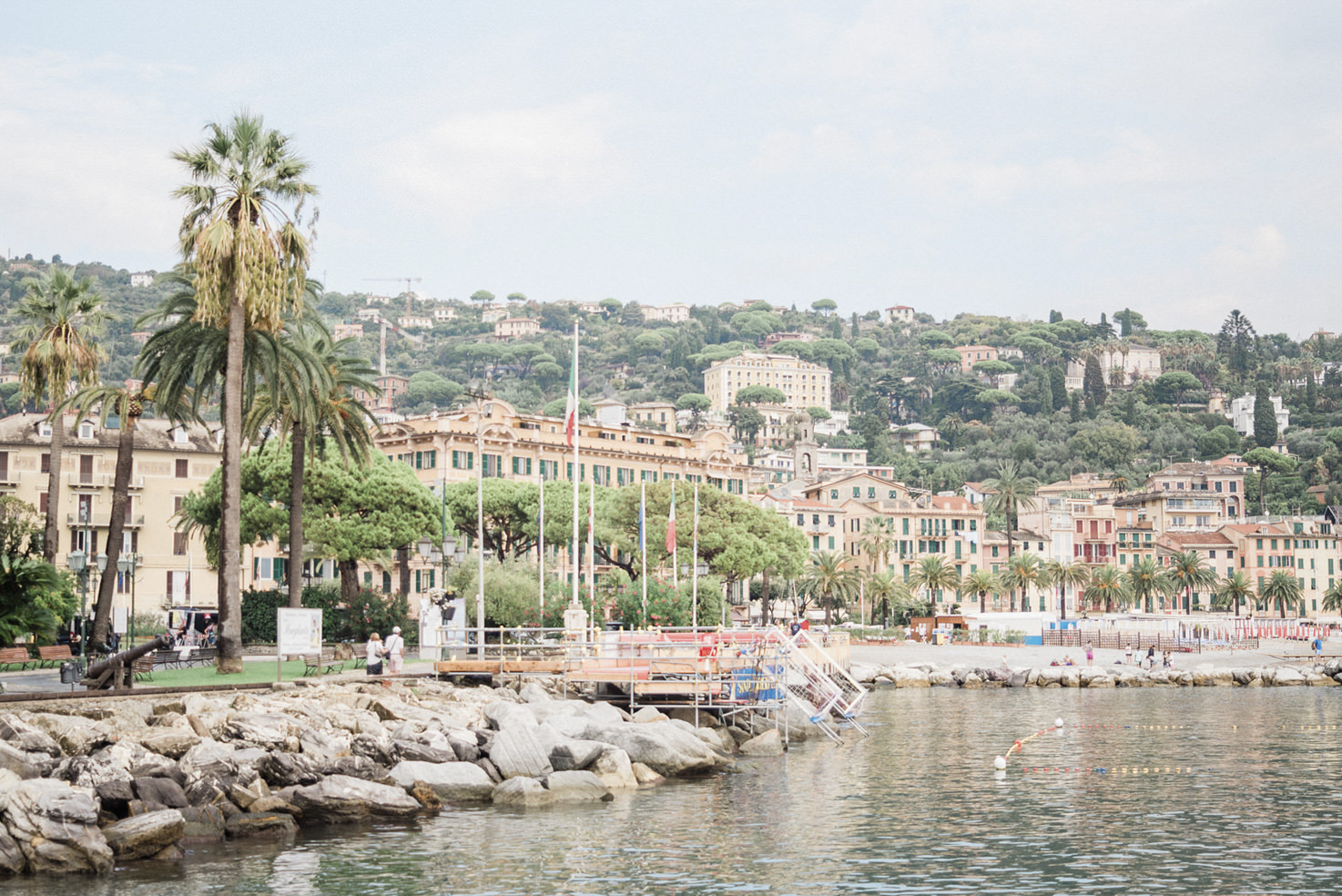Panorama of the Riviera Ligure