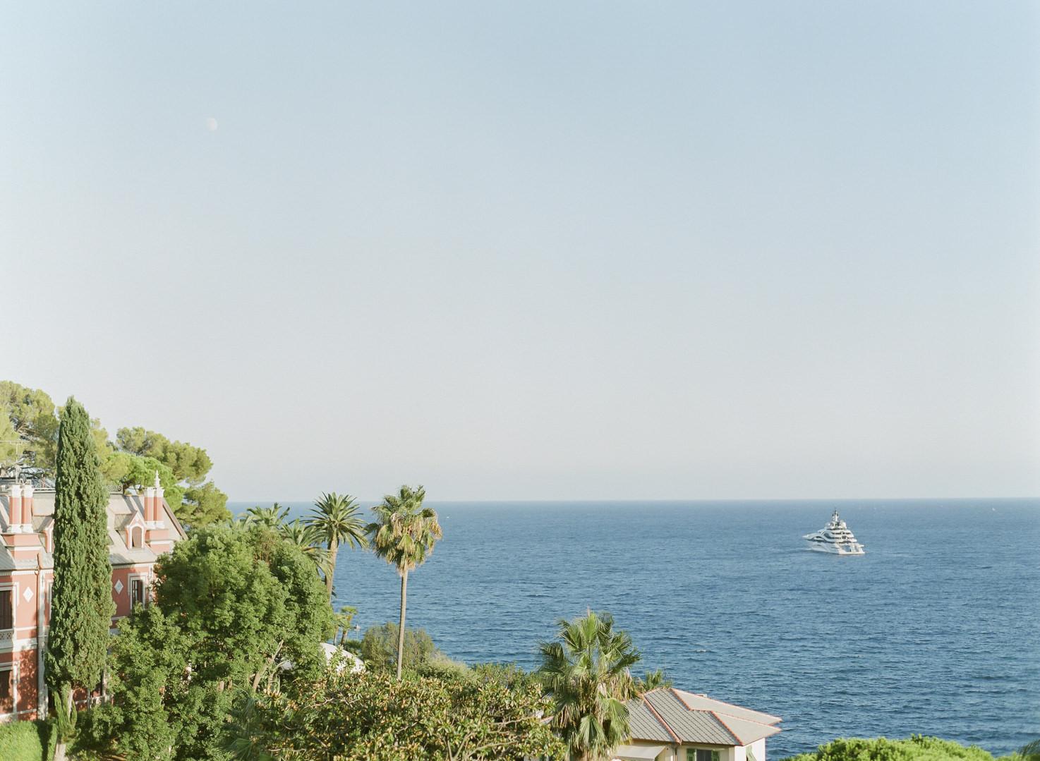 Panorama of the Italian Riviera Ligure