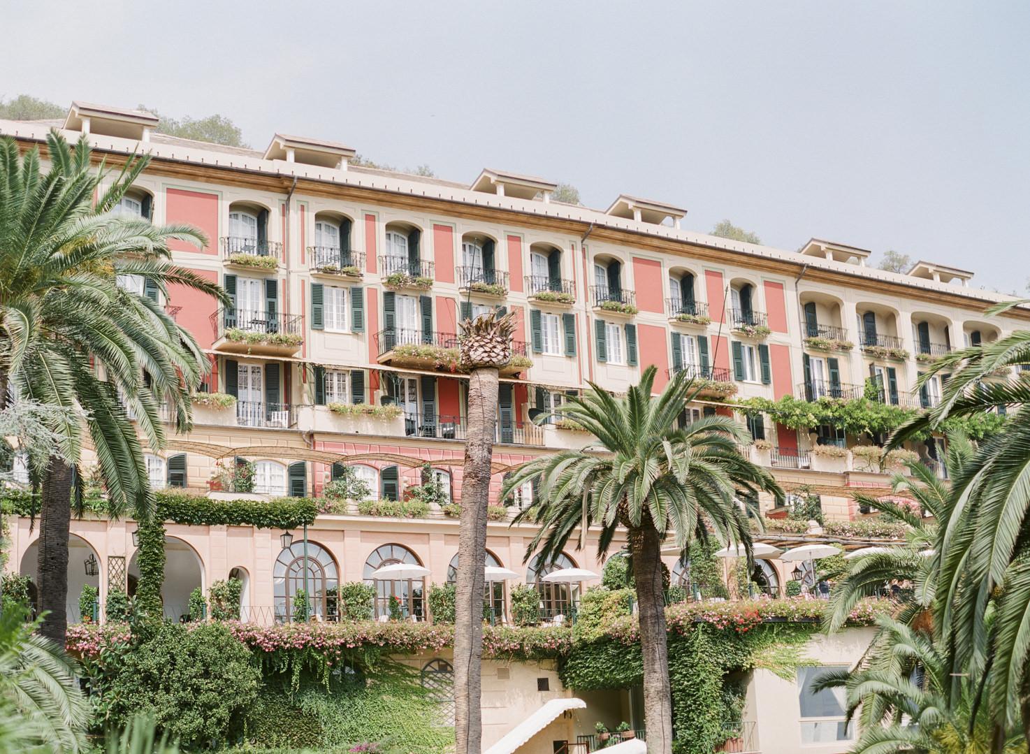 Luxury hotel on the Riviera