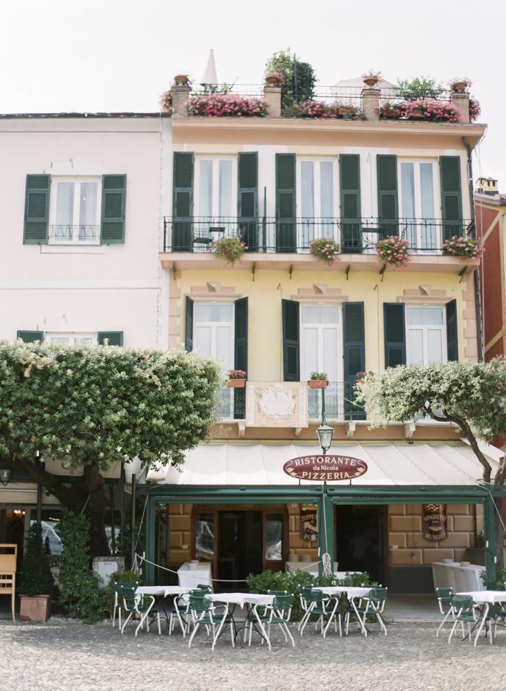A café on the Riviera