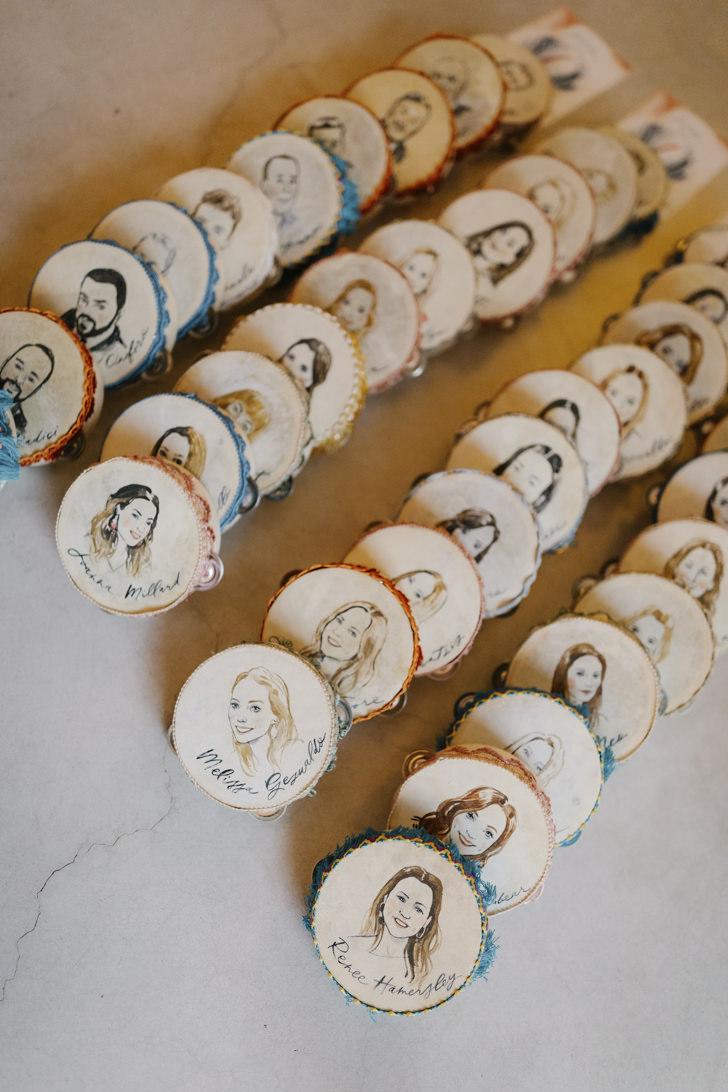 Traditional tambourines of Puglia