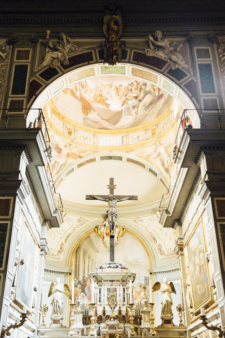 Altar of Ognissanti, Florence