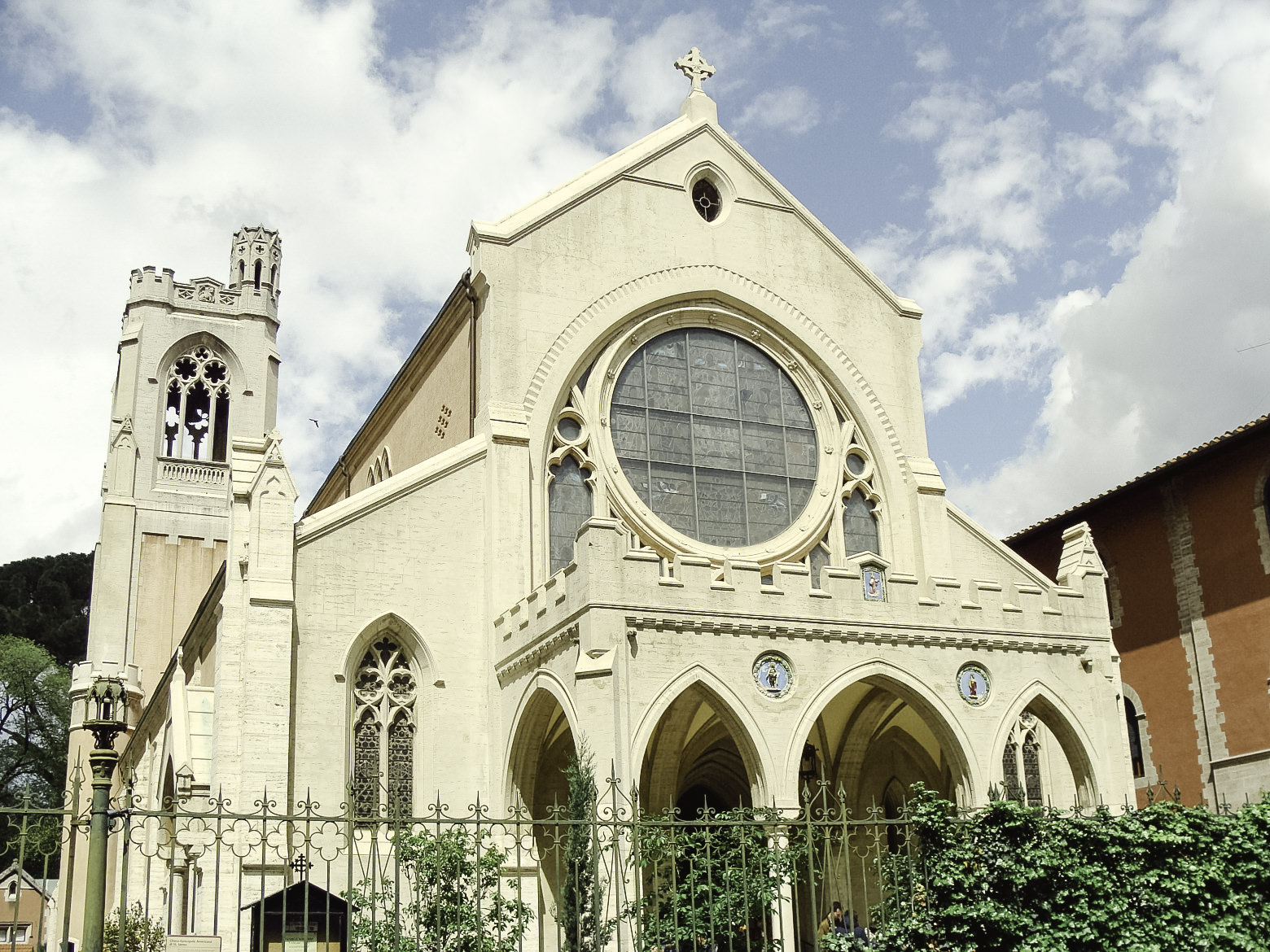 Protestant church of St James in Florence