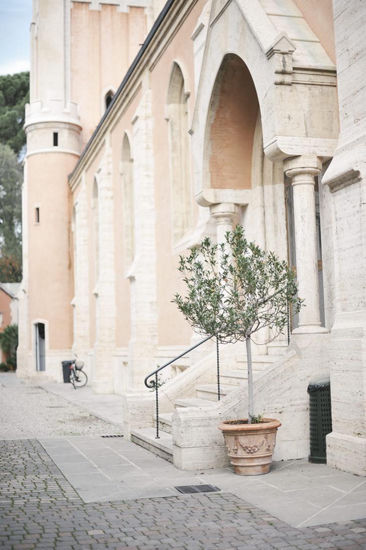 Entrance of St. James church