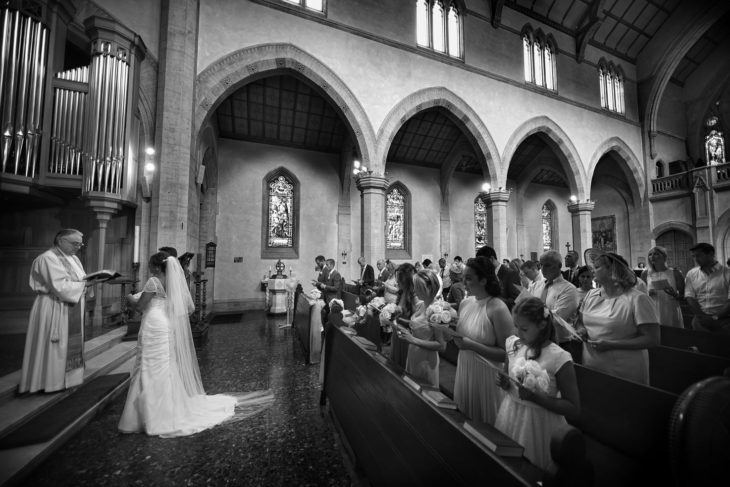 Protestant wedding in Florence