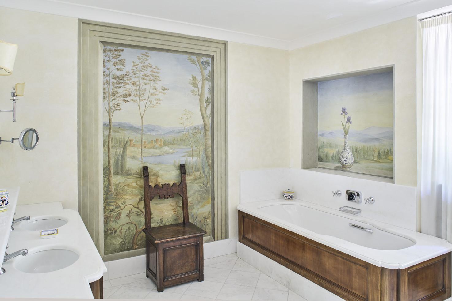 Bathroom at Villa San Michele