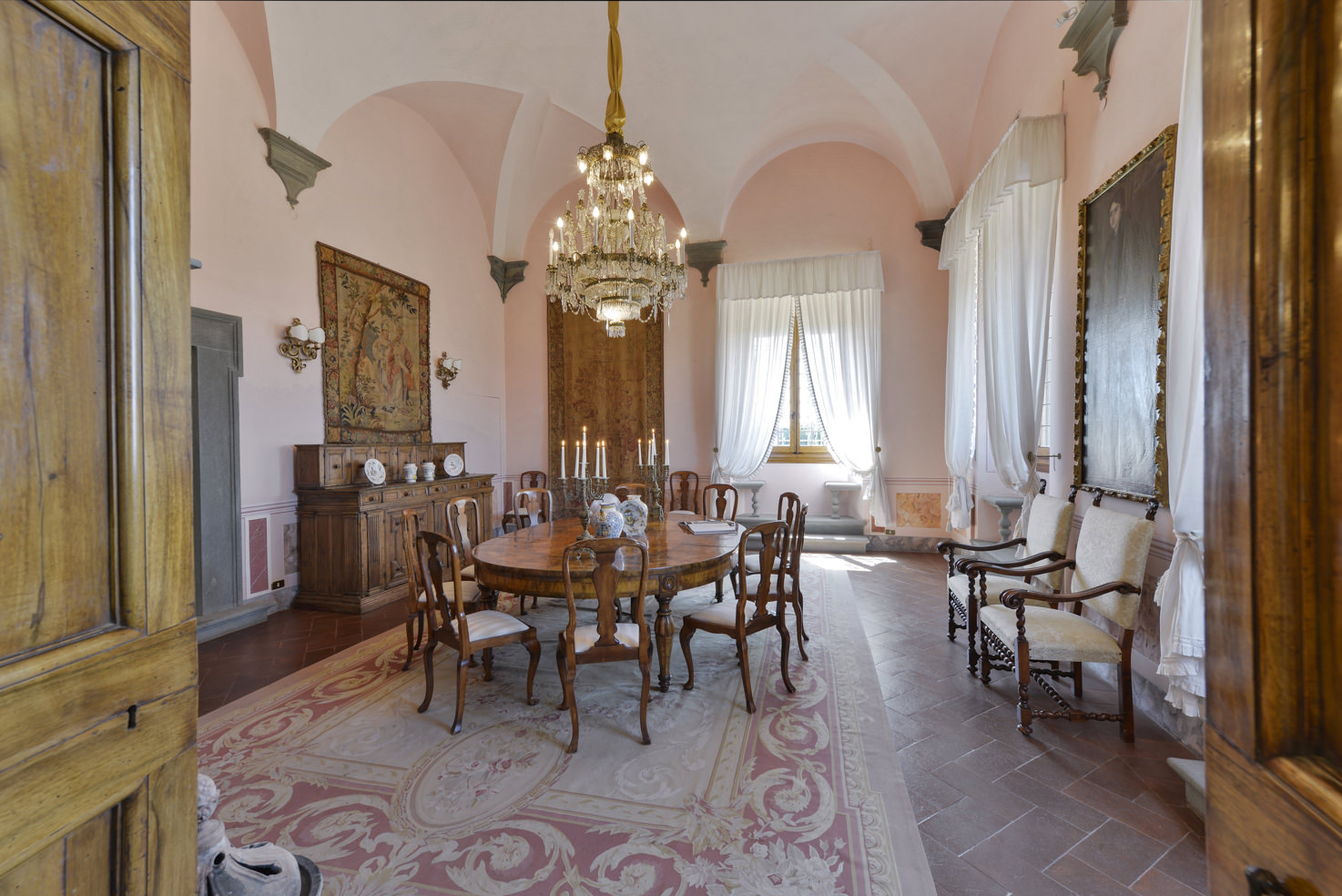 Interior of Villa Gamberaia