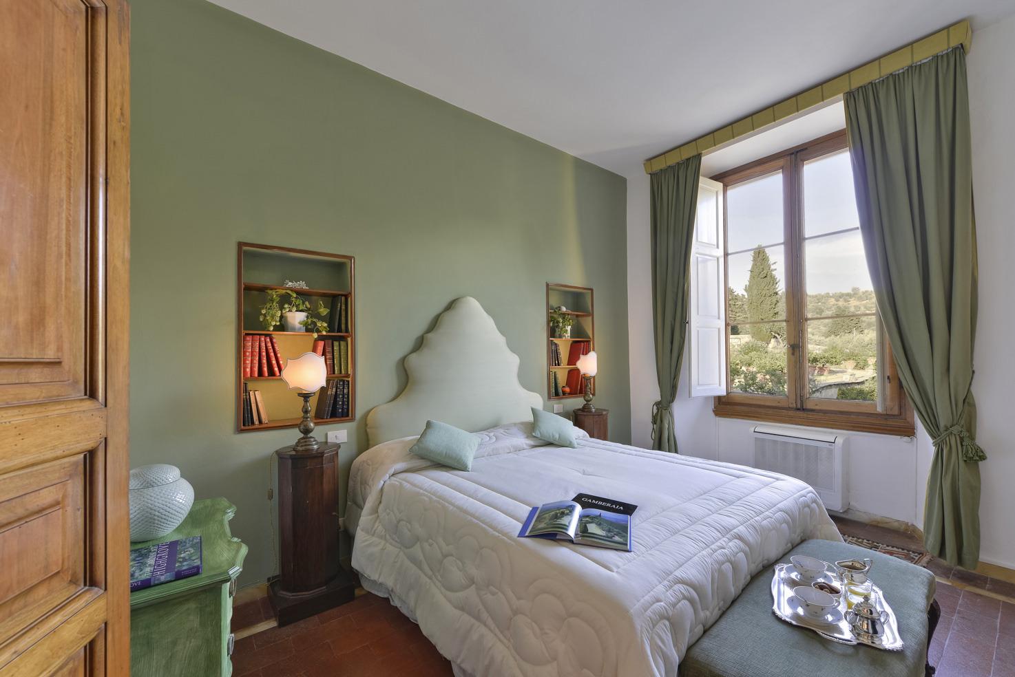 Accommodation at Villa Gamberaia