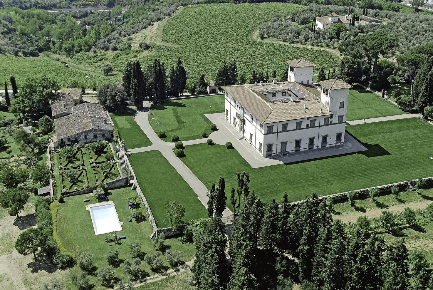 Villa Le Corti, Florence