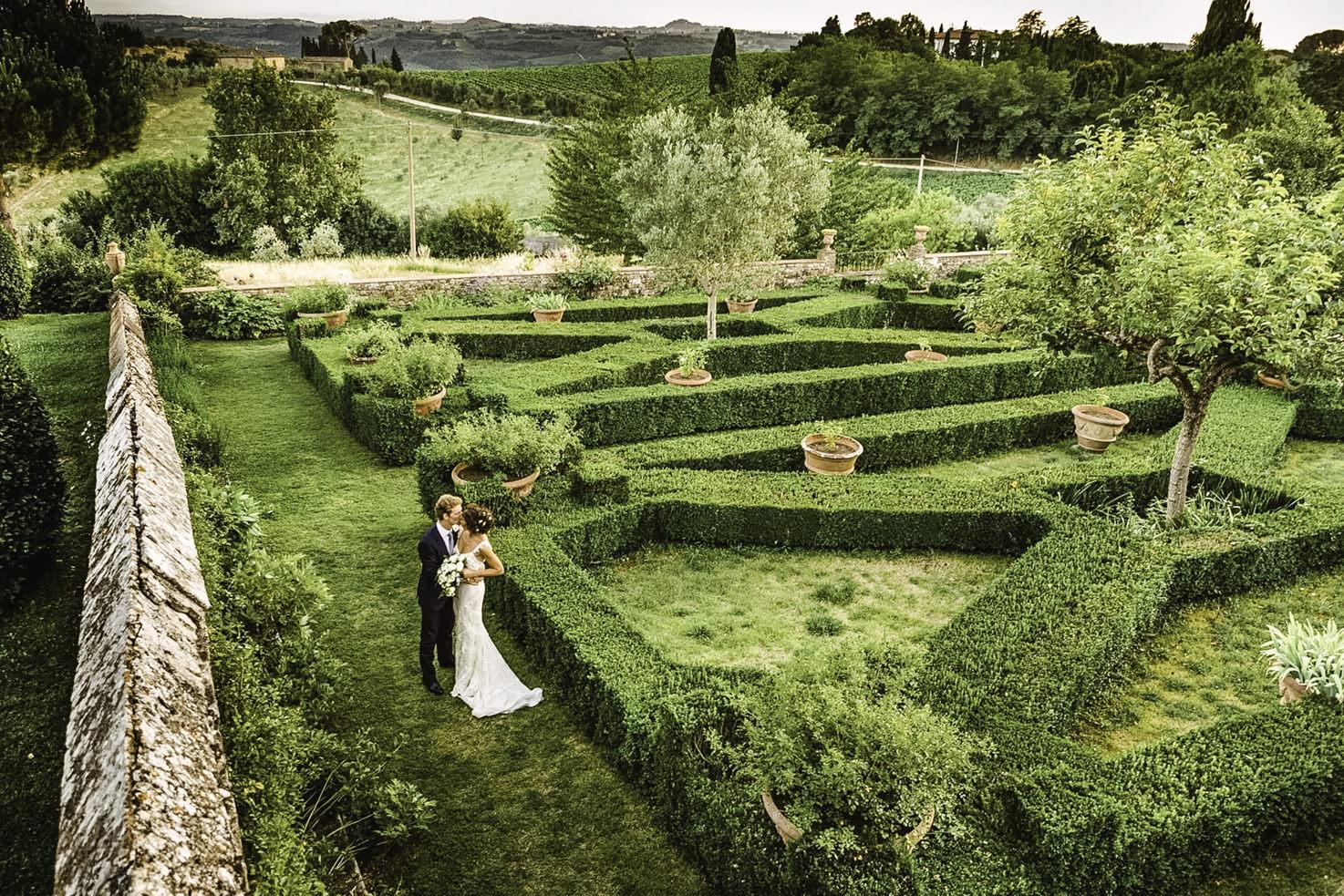 Gardens of Villa Le Corti