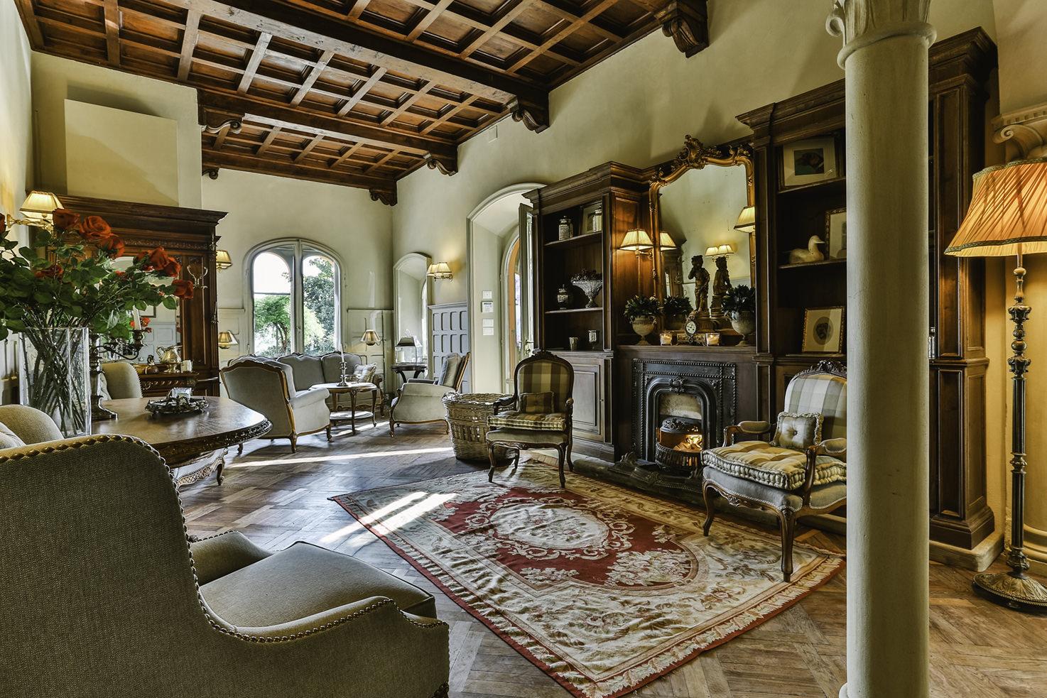 Interior of Villa Le Fontanelle
