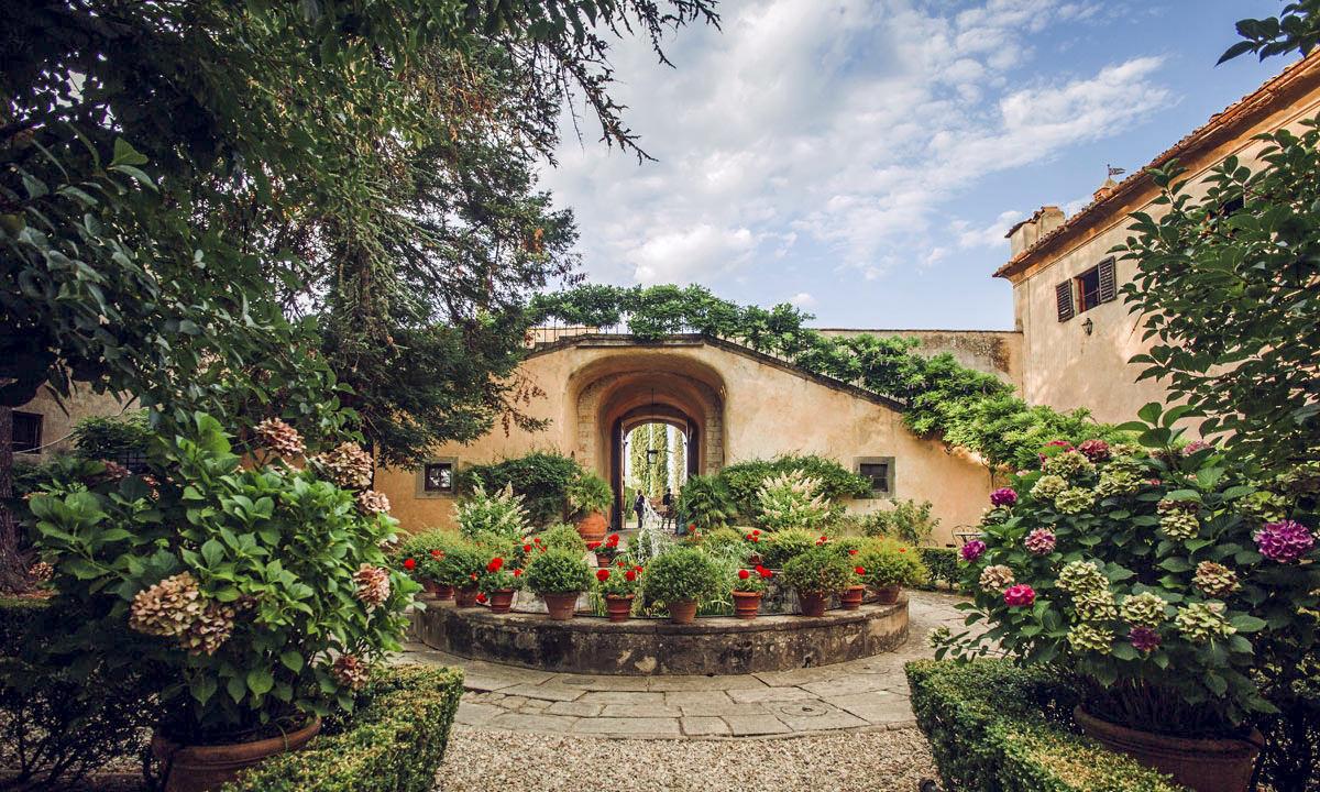Gardens of Villa di Lilliano