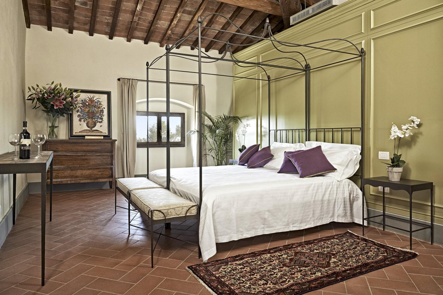 Accommodation at Villa di Lilliano