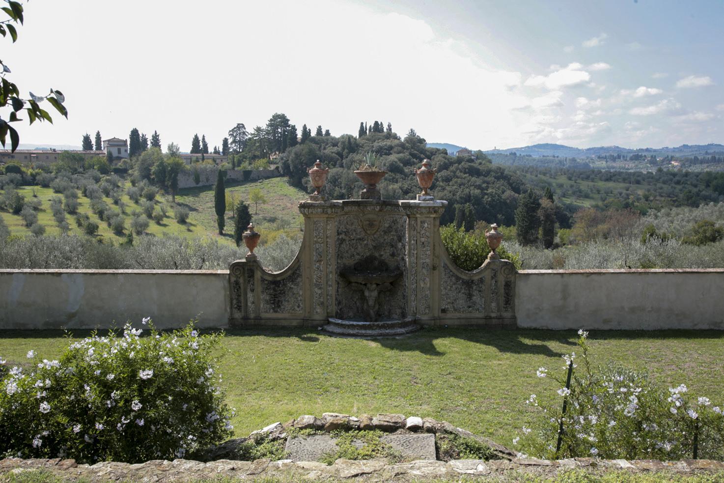 Gardens of Villa Medicea di Lilliano